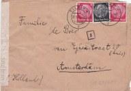 Gestapo envelop Paul Kühne