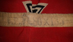 Duitse hakenkruisvlag 80x135 wo2