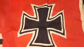 Kriegsfahne ww2 ijzeren kruis hakenkruisvlag