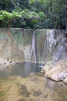 The waterfall at Rasta Falls