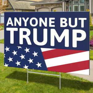 Anti Dump President, Joe Biden 2020 Lawn Sign For Political Campaign - Woastuff