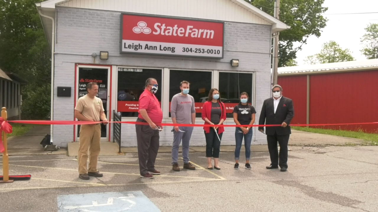 Brccc Hosts Ribbon Cutting Ceremony For Beckley S New State Farm Office Woay Tv