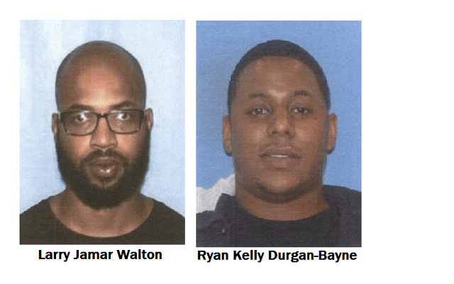 UPDATE: Police Searching For Two Suspects In Connection With