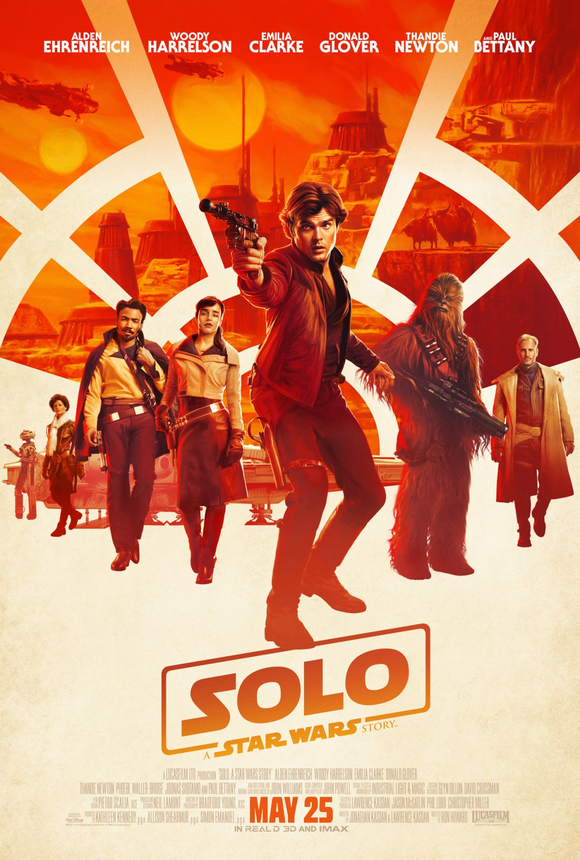 Star Wars Film - Solo Poster