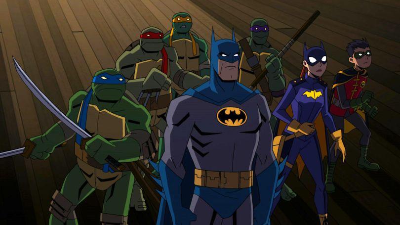 BATMAN VS. TEENAGE MUTANT NINJA TURTLES Animated Movie Announced