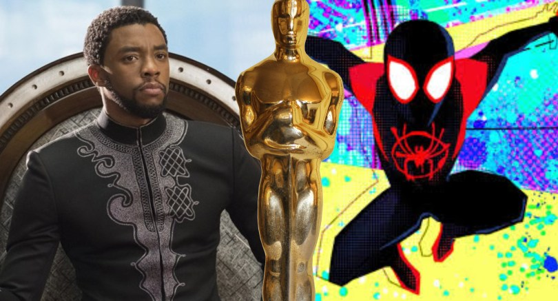 BLACK PANTHER Wins Three Oscars, SPIDER-VERSE Wins Best Animated Feature