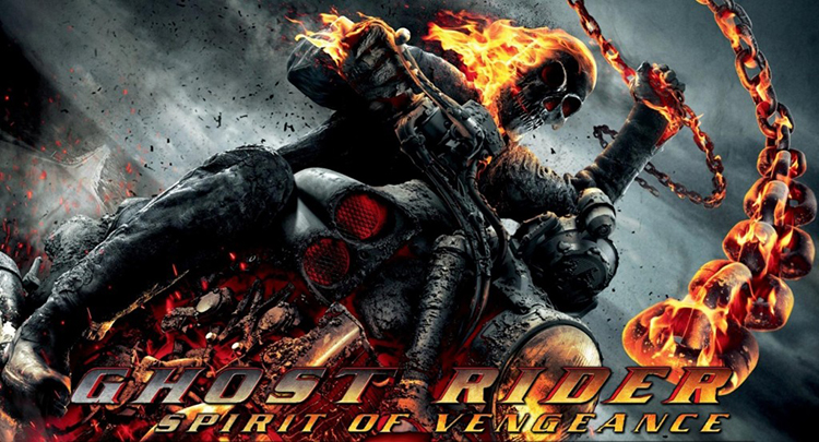 The Poster for Ghost Rider: Spirit of Vengeance