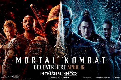 Poster for Mortal Kombat