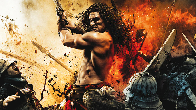 A Promotional Poster for Conan the Barbarian
