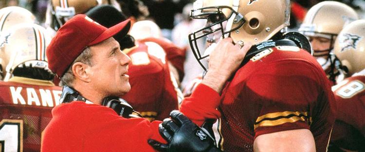 Coach Winters Talks to Steve Lattimer in The Program