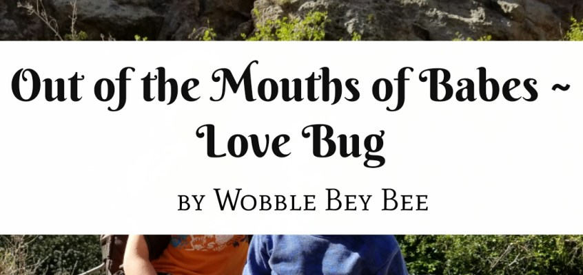 Out of the Mouths of Babes ~ Love Bug