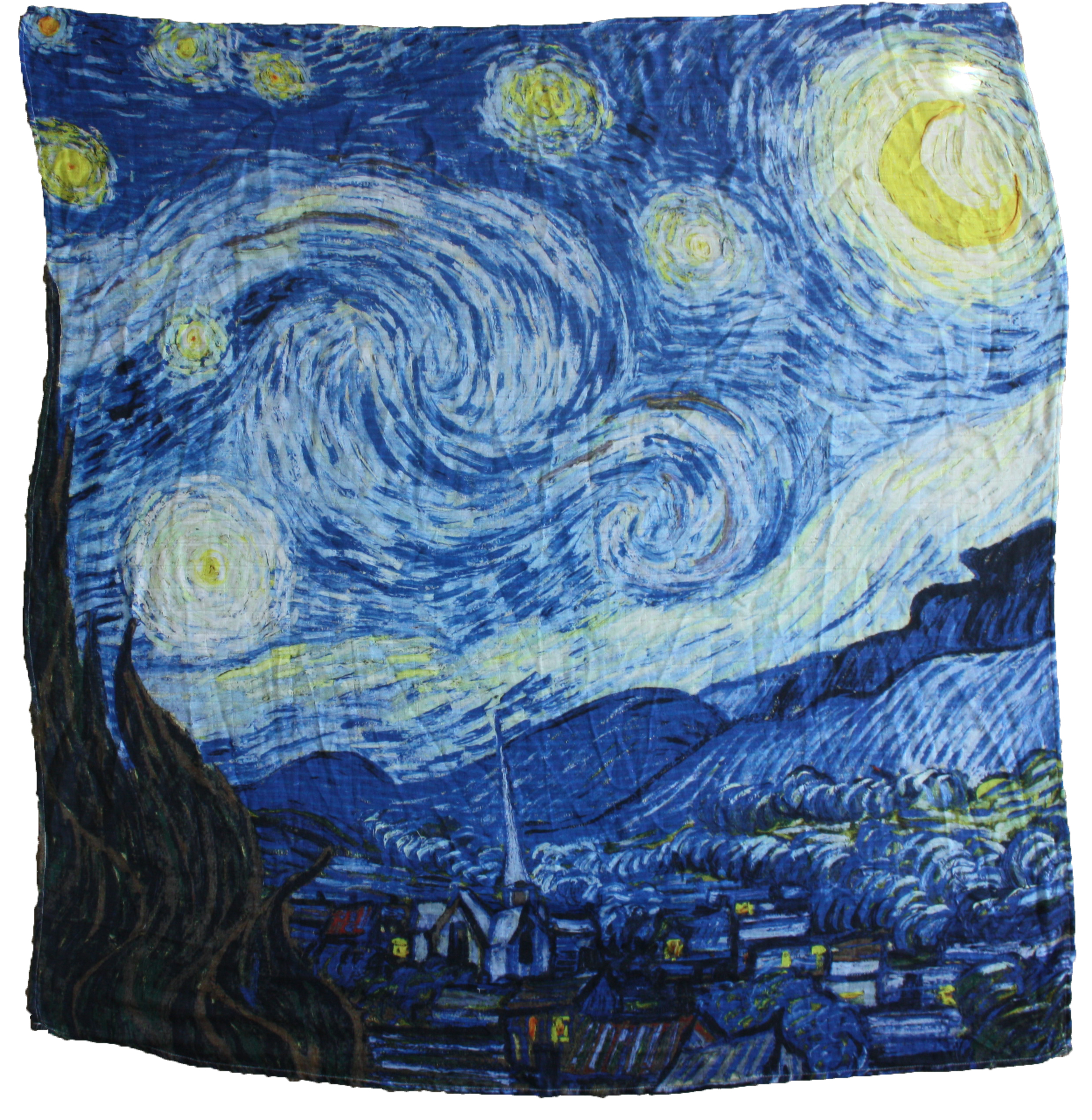 Organic Muslin Swaddle ~ Starry Night