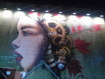 Mural on Hopcat (Midtown)