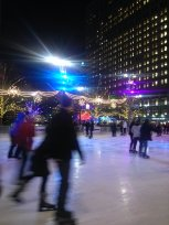Campus Martius - skating rink (Downtown)
