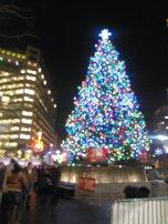 Campus Martius - Christmas tree