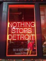 Window in Downtown Detroit