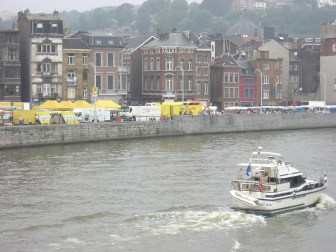 Liege and the River Meuse