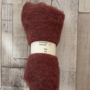 Scandinavian Carded Wool Batt - Hazel