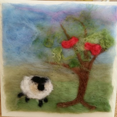 techniques for Needle Felting, After a demonstration and introduction to the needles and fibres, you will felt your own landscape