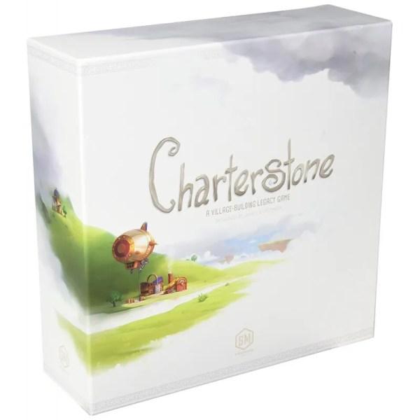 Charterstone 契約石  香港桌遊天地Welcome On Board Hong Kong  策略遊戲 文明 城市建造