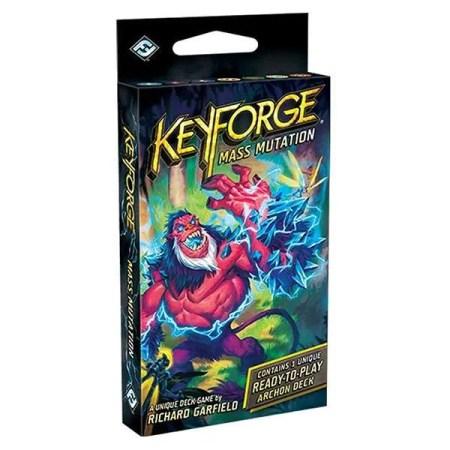 KeyForge: Mass Mutation Deck English Version 鍛鑰者:突變擴散 補充包|香港桌遊天地Welcome On Board Hong Kong|雙人卡牌對戰遊戲Unique Deck Game