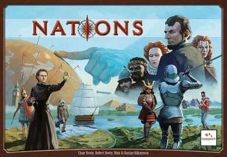 Cover:Nations國家|香港桌遊天地Welcome On Board Hong Kong|經濟文明家庭策略遊戲1-5人單人