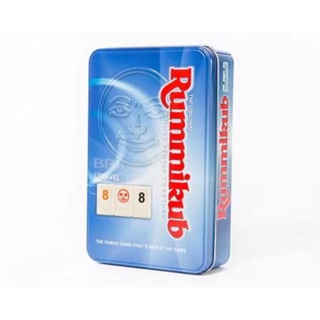 Rummikub Travel Tin魔力橋數字遊戲鐵盒旅行裝 香港桌遊天地Welcome on Board Game Club 家庭長者親子兒童益智遊戲2-4人