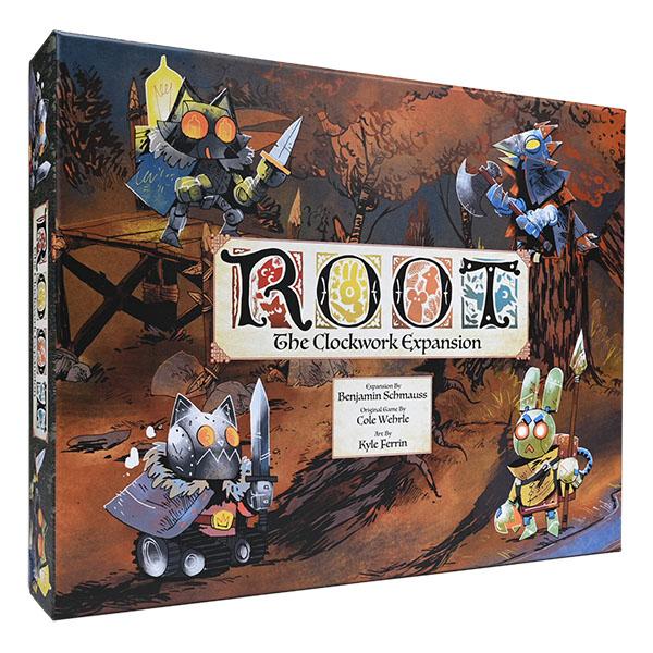 Cover: Root:The Clockwork Expansion 茂林源記:發條擴充 |香港桌遊天地Welcome On Board Game Club Hong Kong|War Strategy 戰爭 策略遊戲