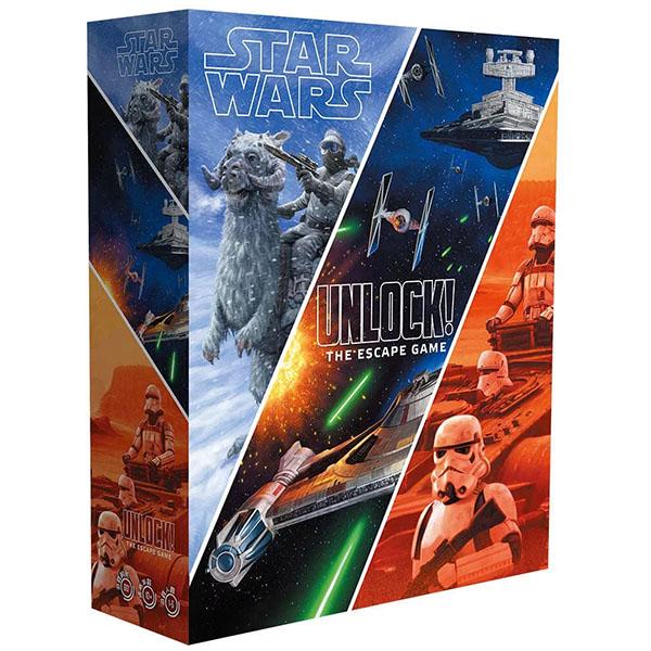 Star Wars: Unlock! 大搜查!星際大戰  香港桌遊天地Welcome on Board Game Club 星球逃脫 合作解謎 卡牌遊戲 1-6人