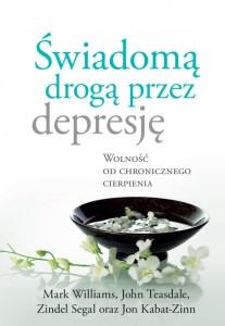 """Okładka książki """"Świadoma droga przez depresję"""". Z listy """"książki o depresji"""" pozycja godna polecenia."""