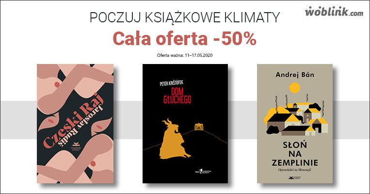 książkowe klimaty promocja połowę ceny