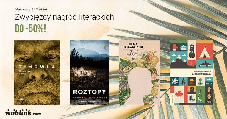 laureaci nagród literackich