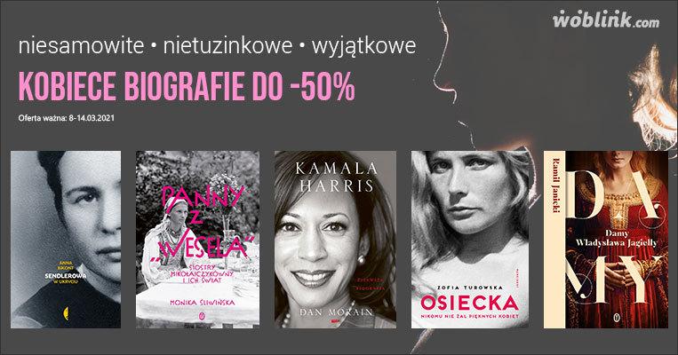 dzień kobiet biografie kobiet promocja do -50%