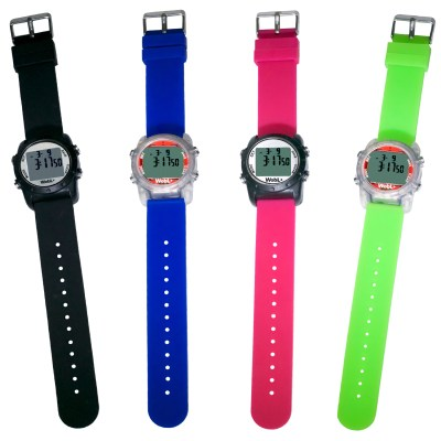 WobL+ is sold in black, blue, pink, and green