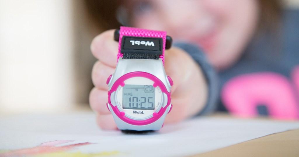 Pink WobL Watch