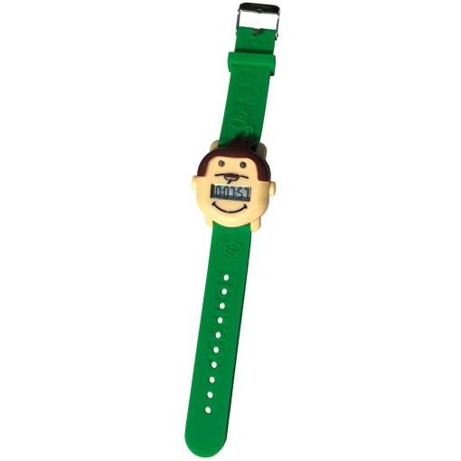 Potty Monkey Alarm Watch fully extended
