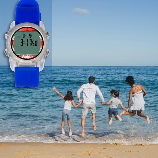 WobL+ blue watch