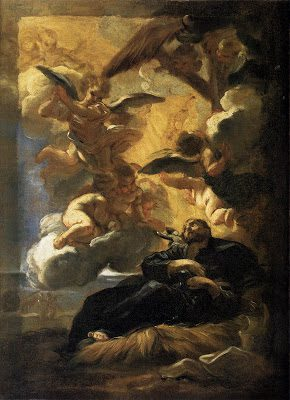 The Vision of St. Francis Xavier, S.J. by Baciccio