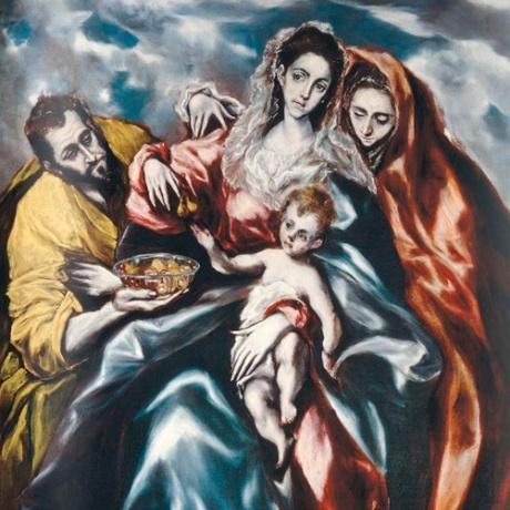 el greco holy family