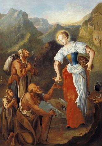 13-go Września. Żywot świętej Notburgi, Służebnicy.