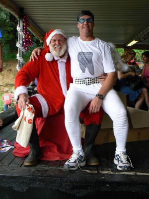 Father Christmas And Gary The Tooth Fairy