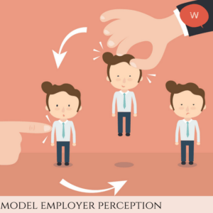 Model employer perception