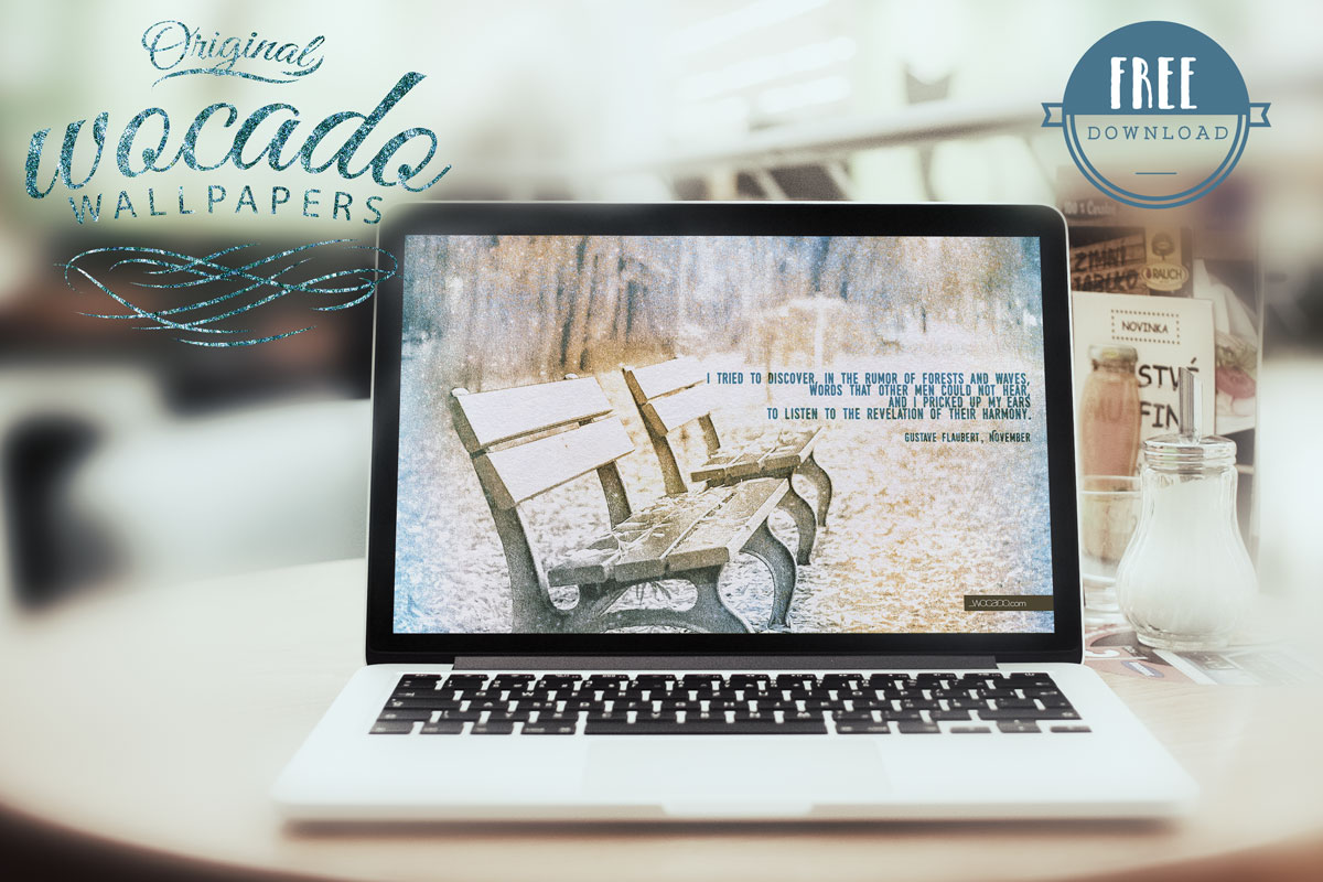 November Wallpaper - I tried to discover - by WOCADO - FREE Download