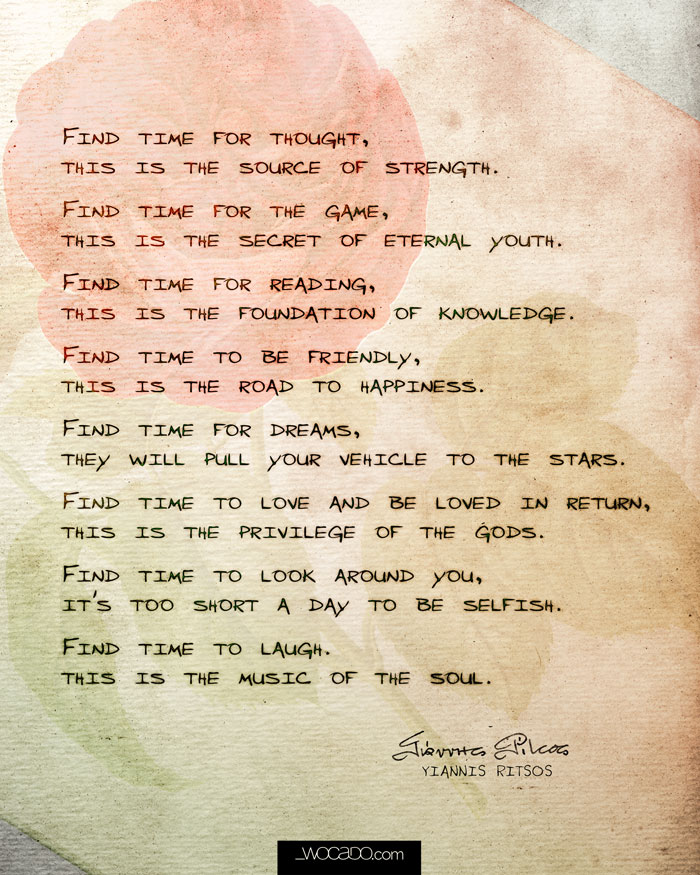 Find Time ~ 8x10 Printable by WOCADO