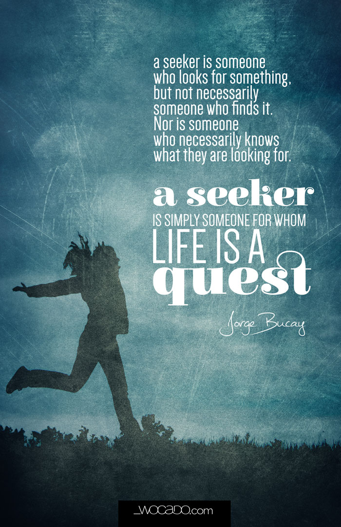 The Seeker - Jorge Bucay