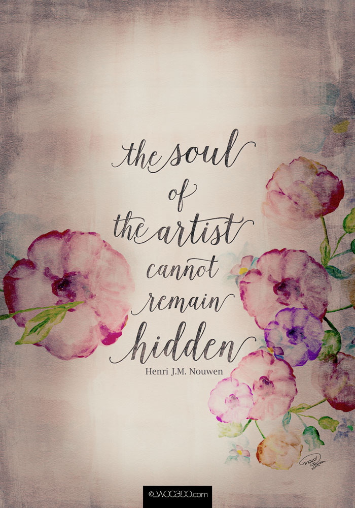 The Soul of The Artist - Poster by Wocado