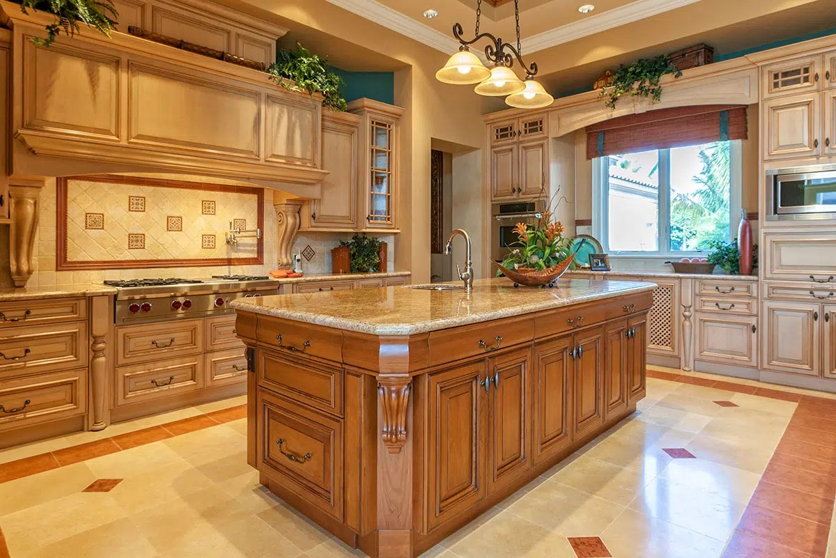 Maple Cabinets - Porcelain Accents | Winds of ChangeWinds ... on Kitchen Countertops With Maple Cabinets  id=23015