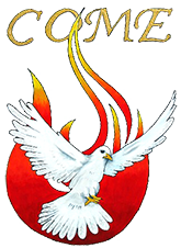 Holy Spirit Logo for the Charismatic Renewal in Western Oregon.