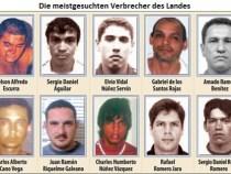 Polizei veröffentlicht Liste der meistgesuchten Verbrecher des Landes