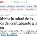 Argentinische Presse bringt neugewählten Präsidenten Cartes mit Zigarettenschmuggel in Verbindung